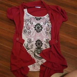 Speechless top size M